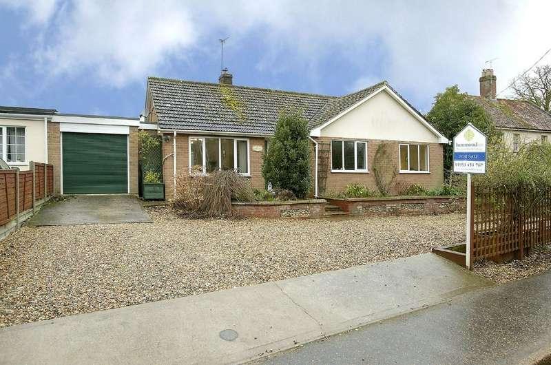 3 Bedrooms Detached Bungalow for sale in Church Road, Little Ellingham