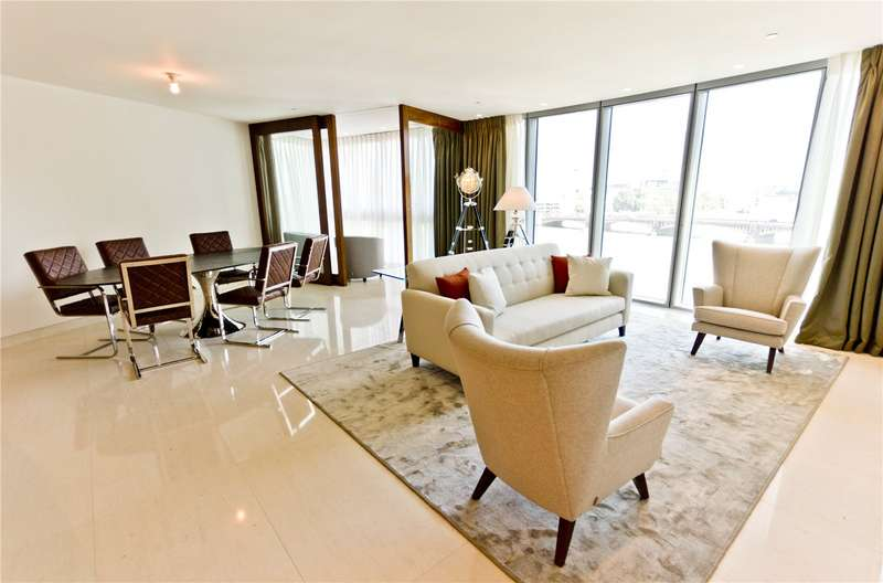3 Bedrooms Apartment Flat for rent in The Tower, 1 St George Wharf, Vauxhall, London, SW8
