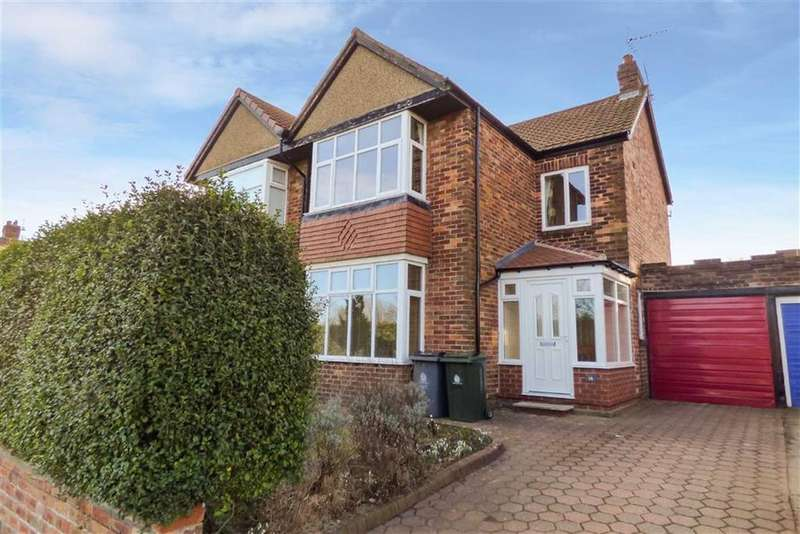 3 Bedrooms Semi Detached House for rent in The Grange, Whitley Bay