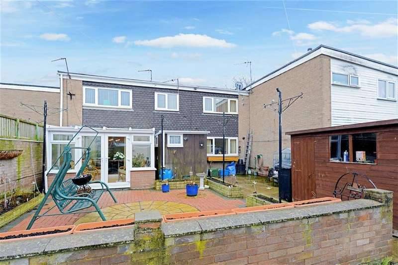 3 Bedrooms Terraced House for sale in Pound Close, Longden Coleham, Shrewsbury, Shropshire