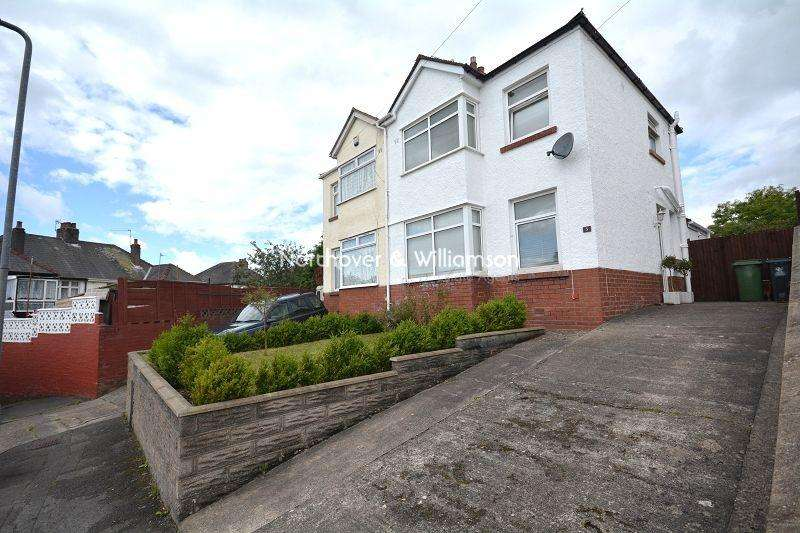 2 Bedrooms Semi Detached House for sale in Northlands , Rumney, Cardiff. CF3