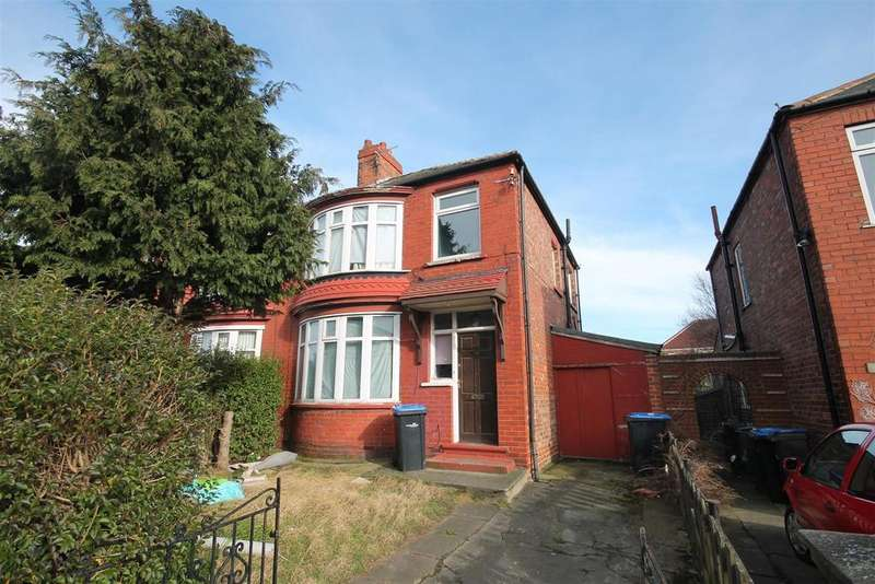 3 Bedrooms Semi Detached House for sale in Roseberry Road, Middlesbrough
