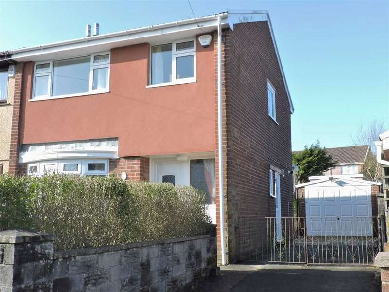 3 Bedrooms Semi Detached House for sale in Can-Yr-Aderyn, Morriston