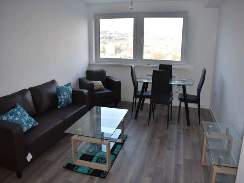 2 Bedrooms Flat for rent in Bentley Court , Parkwood Rise, Keighley
