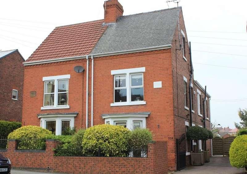 5 Bedrooms Semi Detached House for sale in 224, Elmton Road, Worksop