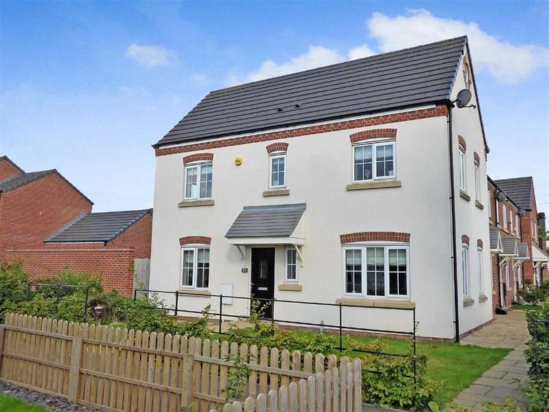 3 Bedrooms Semi Detached House for sale in Lakeside Boulevard, Cannock, Staffordshire