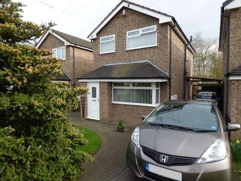 3 Bedrooms Detached House for sale in Fernbank Close, Crewe