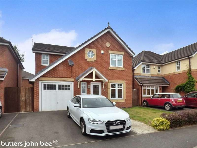 4 Bedrooms Detached House for sale in Rubin Drive, Leighton, Crewe