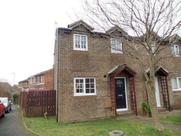 2 Bedrooms Semi Detached House for sale in BROUGHAM COURT, PETERLEE, OAKERSIDE, PETERLEE