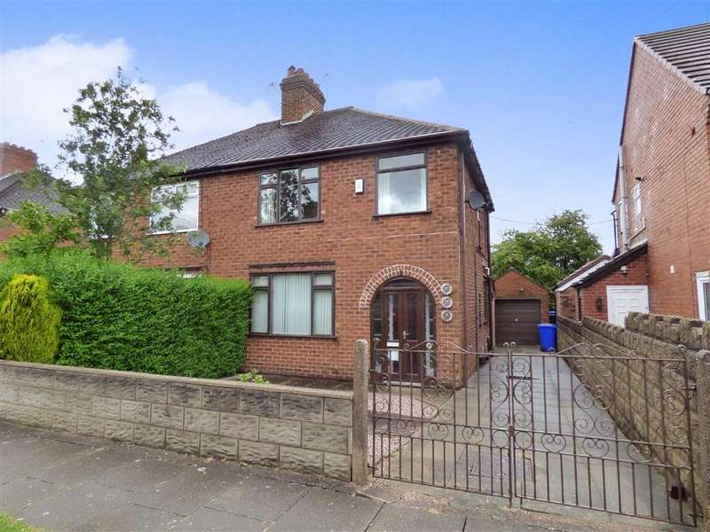 3 Bedrooms Semi Detached House for sale in Parkfield Road, Dresden
