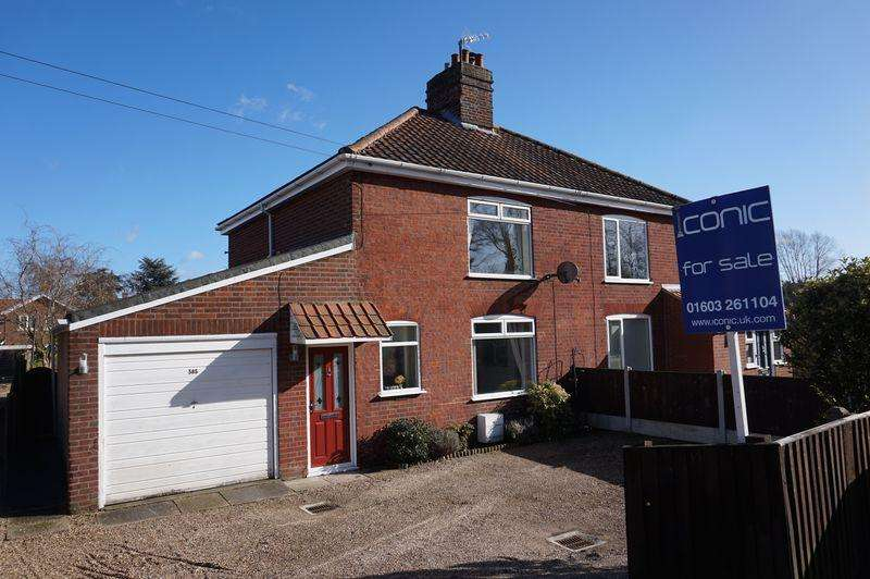 3 Bedrooms Semi Detached House for sale in Drayton High Road, Hellesdon, Norwich