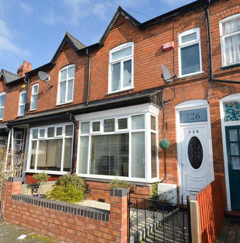 3 Bedrooms Terraced House for sale in Highbury Road, Kings Heath , Birmingham, B14