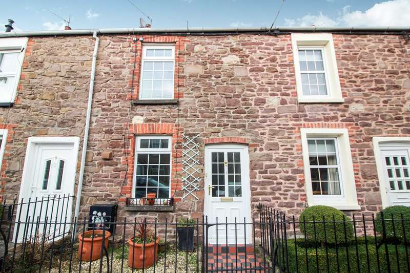 2 Bedrooms Terraced House for sale in Princes Street, Abergavenny, NP7