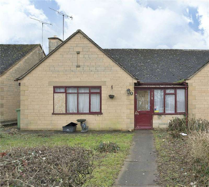 2 Bedrooms Semi Detached Bungalow for sale in Frampton Drive, Willersey, WR12
