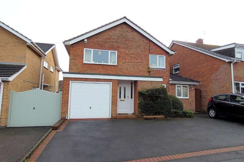 4 Bedrooms Detached House for sale in Hastings Way, Ashby-de-la-Zouch