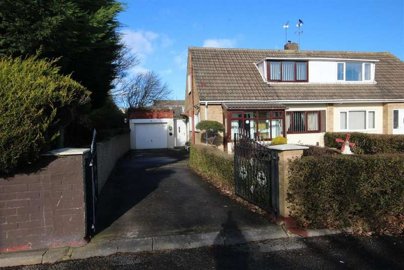 2 Bedrooms Semi Detached Bungalow for sale in Dorchester Drive, Hart Station, Hartlepool
