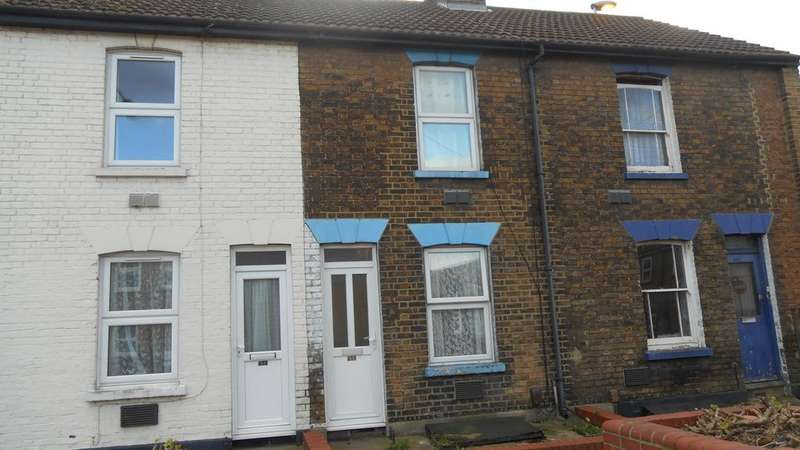 2 Bedrooms Terraced House for sale in Jeffery Street, Gillingham ME7