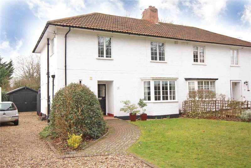 3 Bedrooms Semi Detached House for sale in Brockswood Lane, Welwyn Garden City, Hertfordshire