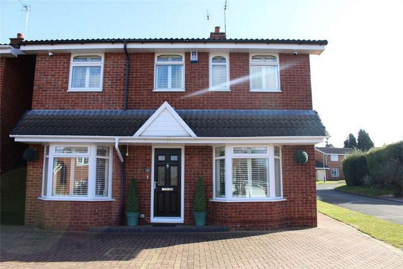 4 Bedrooms Detached House for sale in Chartwell Close, Whitestone, Nuneaton, Warwickshire