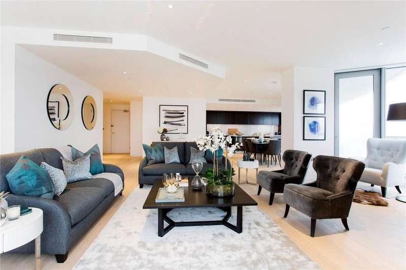 2 Bedrooms Flat for sale in Charrington Tower, 11 Biscayne Avenue, Canary Wharf, London, E14