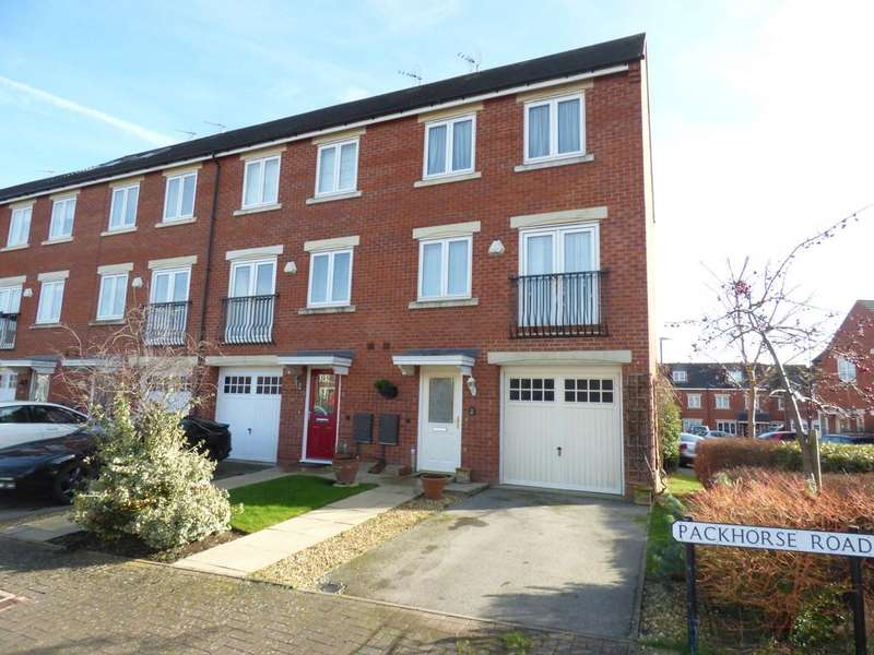 3 Bedrooms End Of Terrace House for sale in Packhorse Road, Stratford-Upon-Avon