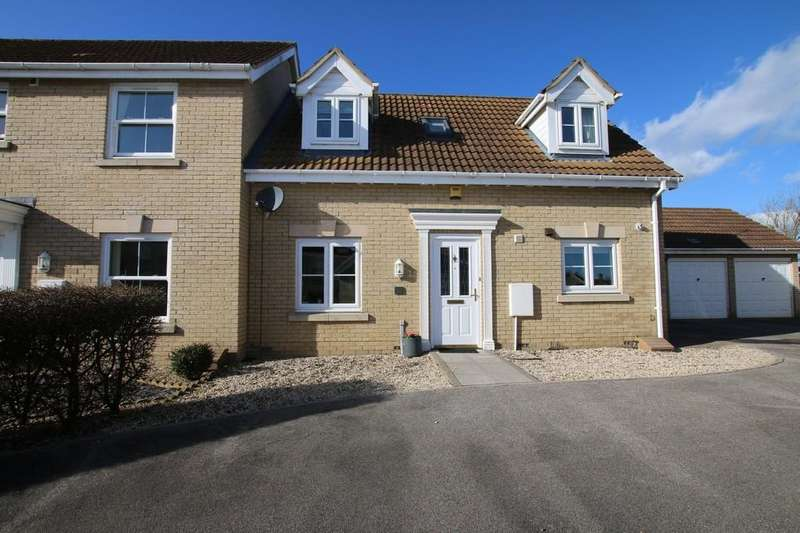 2 Bedrooms Semi Detached House for sale in St. Andrews Close, Sutton, Ely