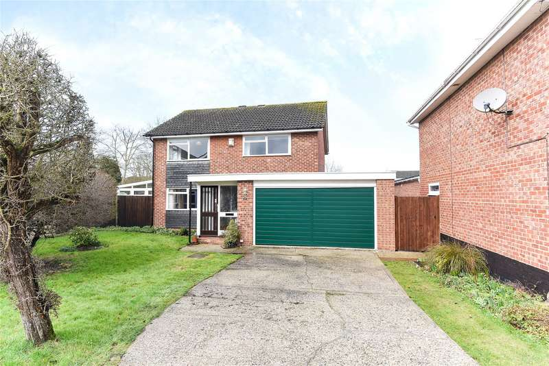 4 Bedrooms Detached House for sale in Briars Close, Pangbourne, Reading, Berkshire, RG8