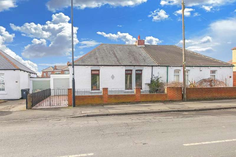 2 Bedrooms Semi Detached Bungalow for sale in Glebe Road, Newcastle Upon Tyne
