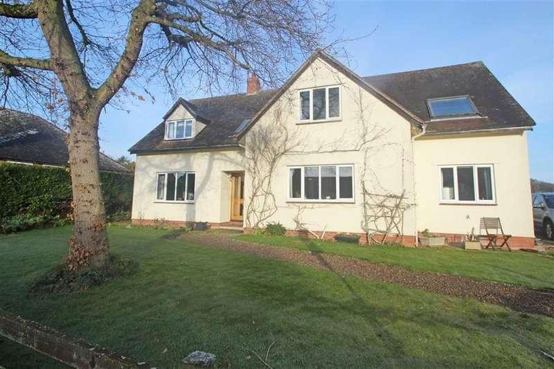 5 Bedrooms Detached House for sale in Almeley Road, EARDISLEY, Eardisley Hereford, Herefordshire