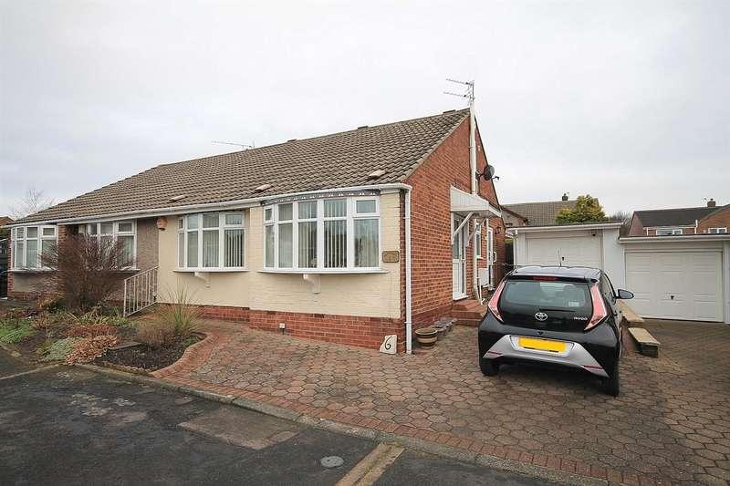 3 Bedrooms Semi Detached Bungalow for sale in Berkshire Close, Belmont, Durham