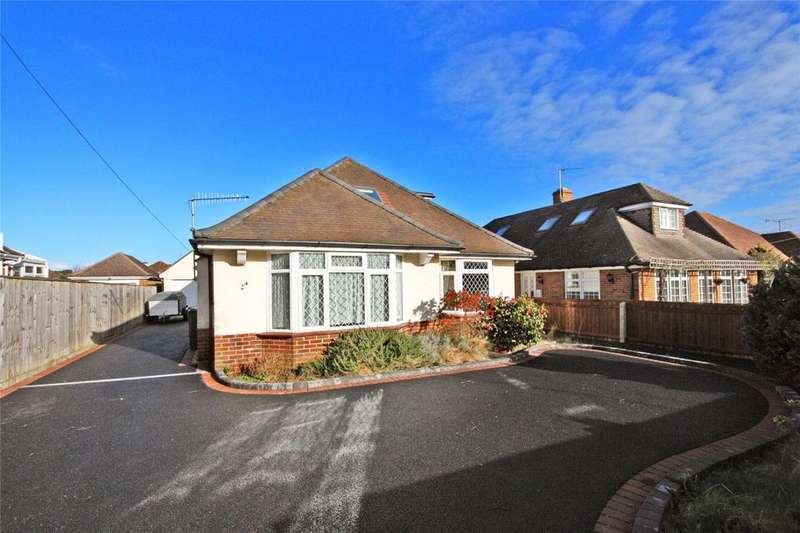 5 Bedrooms Detached Bungalow for sale in Merrivale Avenue, Bournemouth, Dorset, BH6