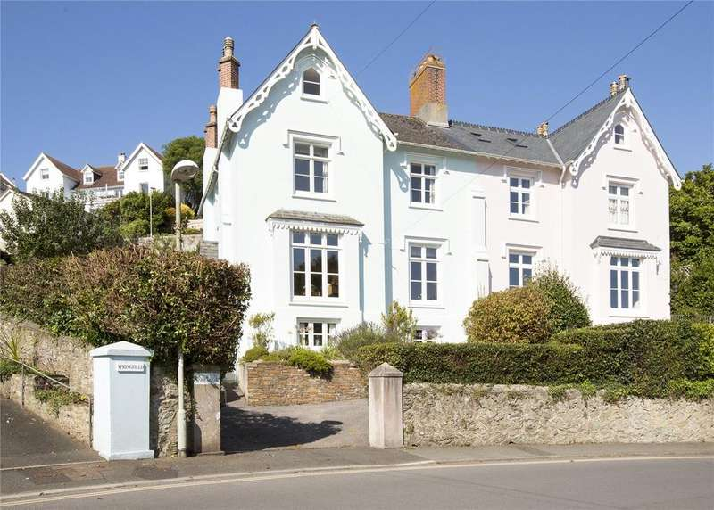 5 Bedrooms Semi Detached House for sale in Devon Villas, Devon Road, Salcombe, TQ8