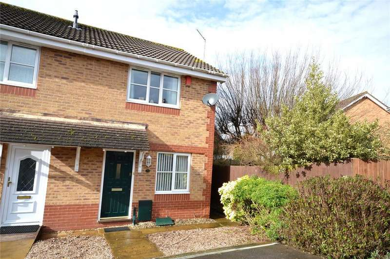 2 Bedrooms Semi Detached House for sale in Knole Close, Pontprennau, Cardiff, CF23
