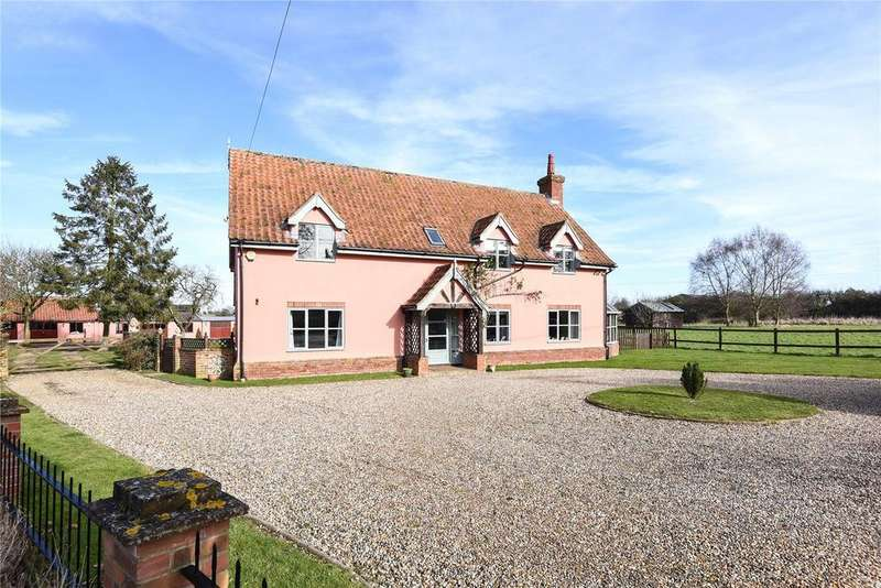 4 Bedrooms Equestrian Facility Character Property for sale in The Street, Hepworth, Diss, Suffolk, IP22