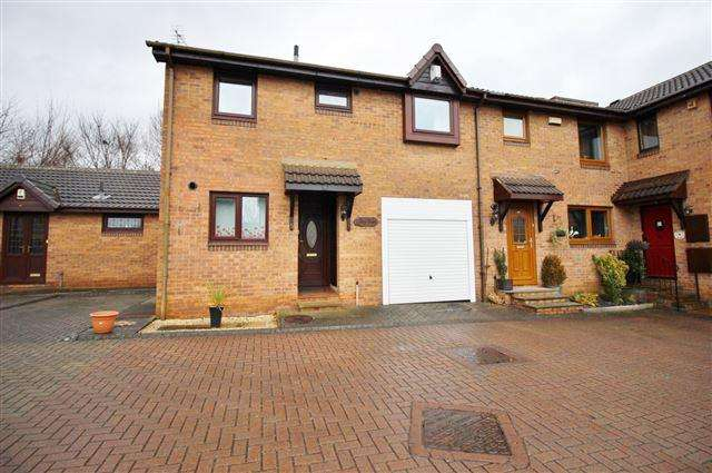 2 Bedrooms Semi Detached House for sale in Woodspring Court, Sheffield , S4 8FP