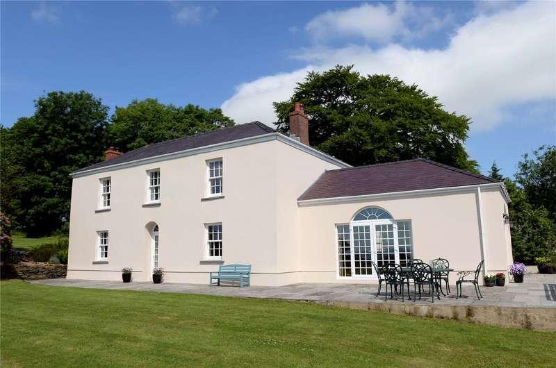 5 Bedrooms Detached House for sale in Blaenafon, Efailwen, Clynderwen, Carmarthenshire