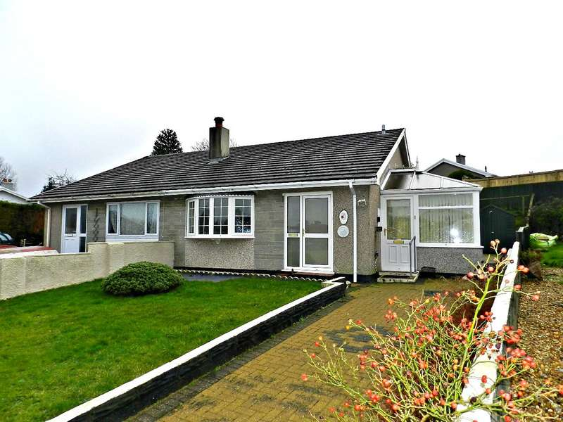 2 Bedrooms Semi Detached Bungalow for sale in River View, Llangwm, Haverfordwest