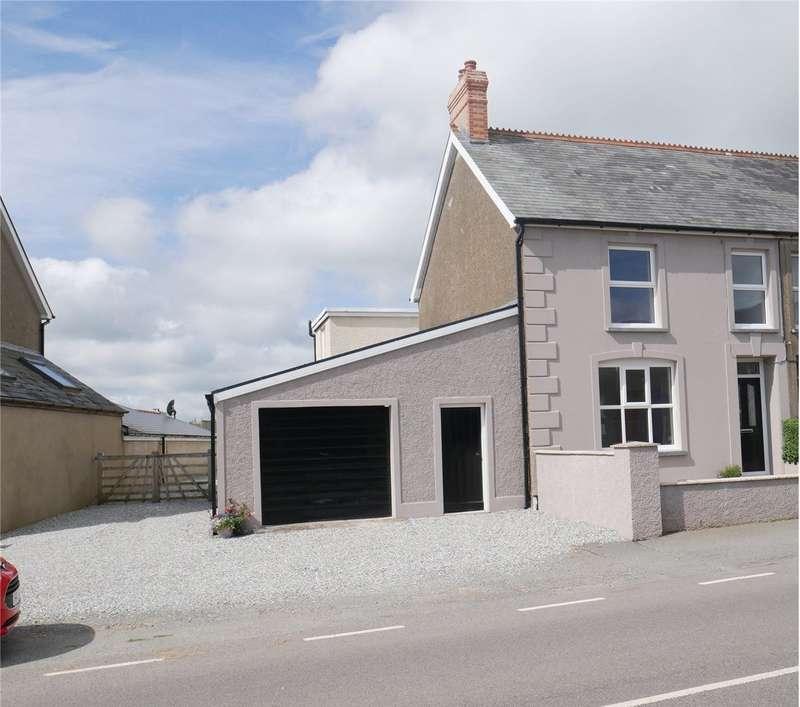 5 Bedrooms Semi Detached House for sale in Awelfryn, Maenclochog, Clynderwen, Pembrokeshire