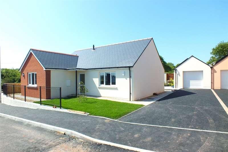 2 Bedrooms Detached Bungalow for sale in Plot 4, Bowett Close, Hundleton, Pembroke