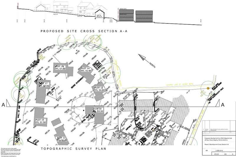 Land Commercial for sale in Plot 16, Church Close, Begelly, Kilgetty