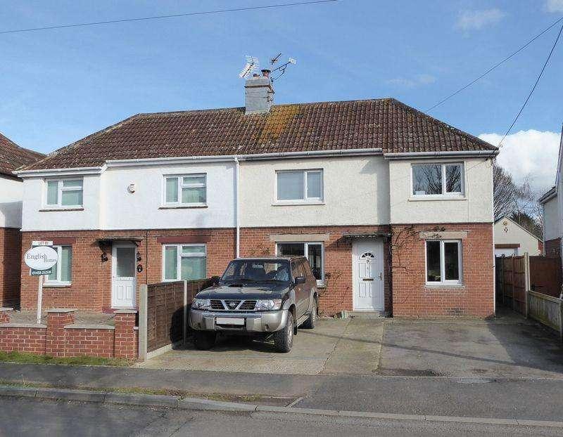 2 Bedrooms Semi Detached House for sale in Garden City, Langport