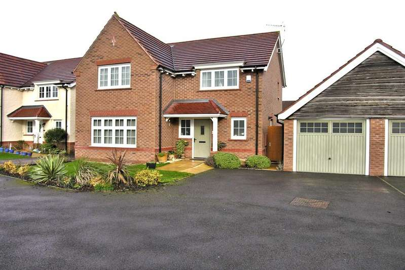 4 Bedrooms Detached House for sale in ASTER DRIVE, CASTLE VIEW, STAFFORD ST16