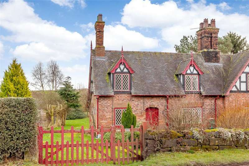 3 Bedrooms Semi Detached House for sale in Stone House Lane, Peckforton, Tarporley, Cheshire