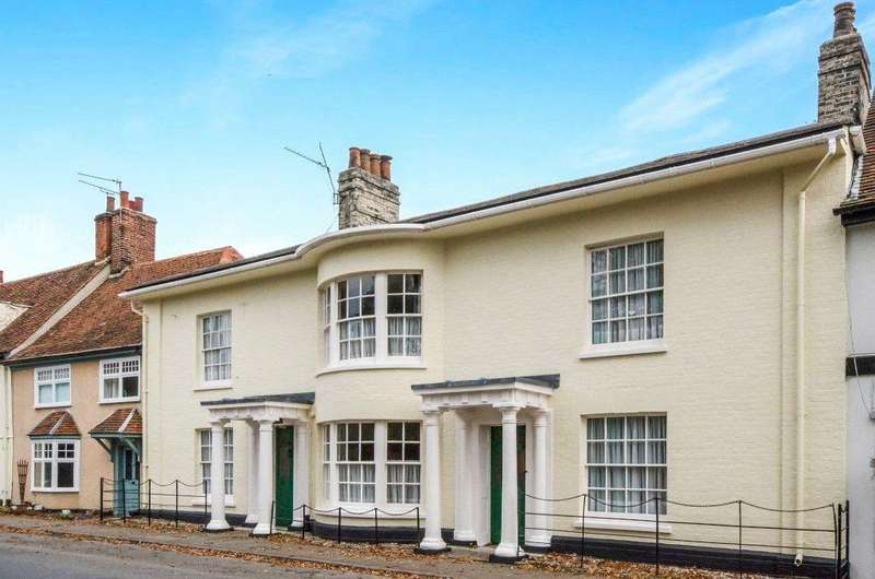 6 Bedrooms Terraced House for sale in Lower Street, Stratford St. Mary, Suffolk