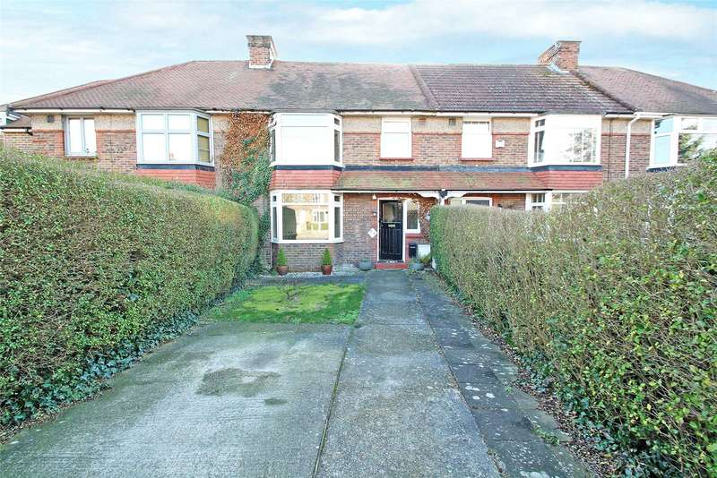 3 Bedrooms Terraced House for sale in Twitten Way, Worthing, West Sussex, BN14