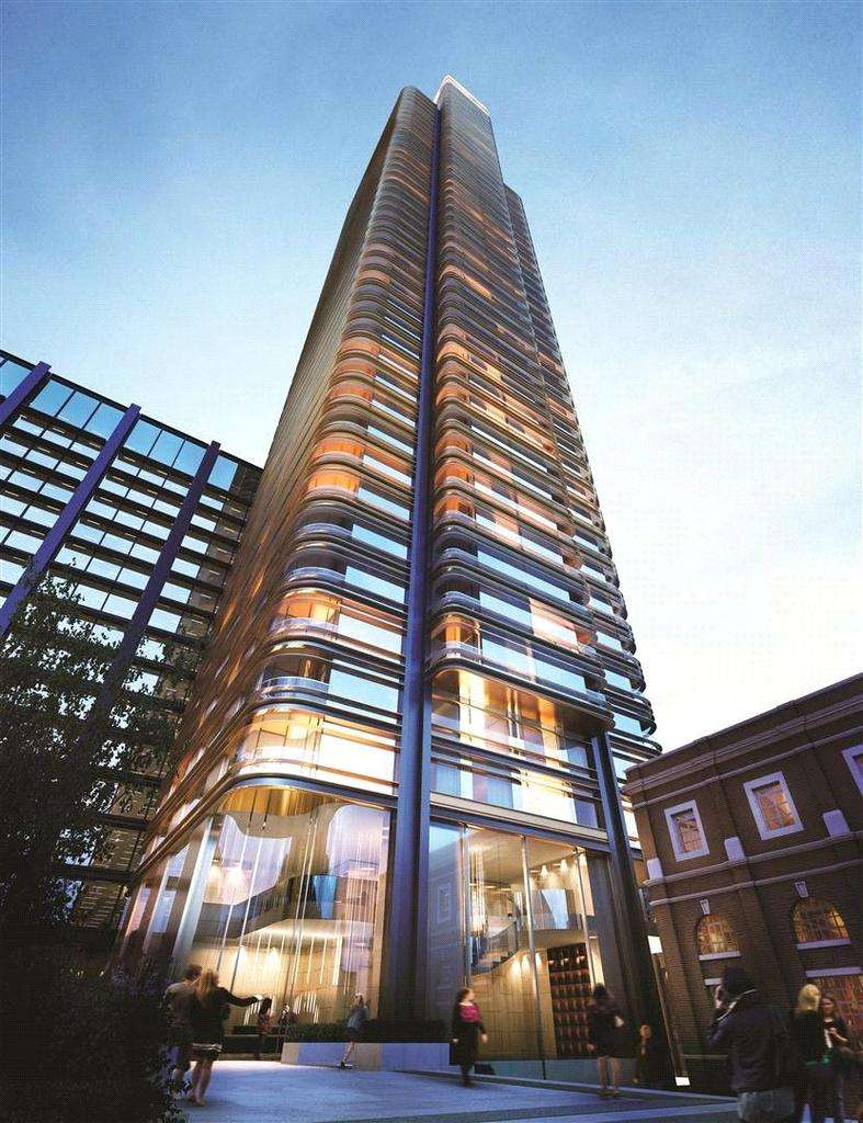 3 Bedrooms Flat for sale in Principal Tower, Shoreditch Highstreet, London, EC2M