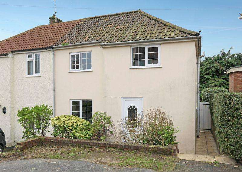 2 Bedrooms Semi Detached House for sale in Wealden Close, Crowborough, East Sussex