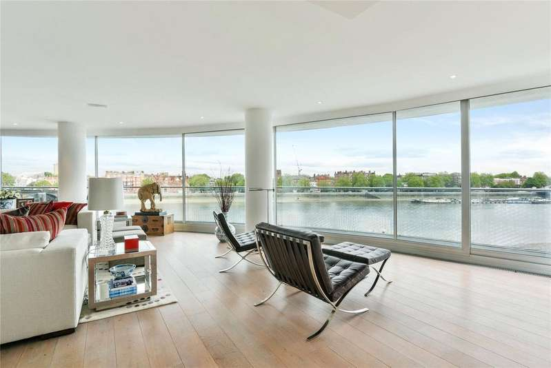 2 Bedrooms Flat for rent in Albion Riverside, 8 Hester Road, London, SW11