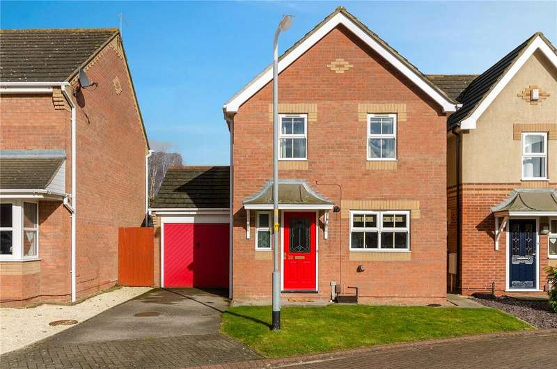 3 Bedrooms Detached House for sale in Mallard Court, North Hykeham, Lincoln, Lincolnshire, LN6