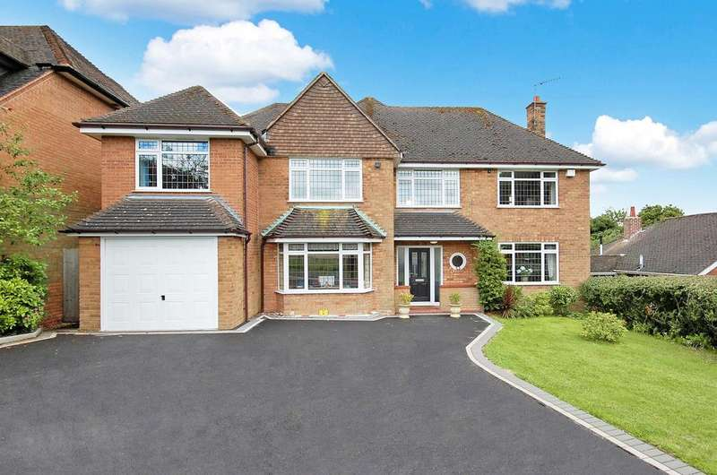 5 Bedrooms Detached House for sale in THE HIGHFIELDS, Wightwick, Wolverhampton WV6